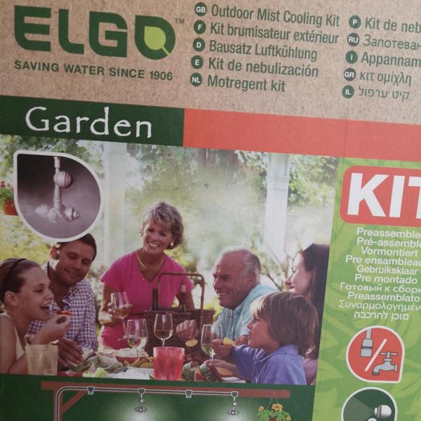 ELGO Luftbefeuchtung / Luftkühlung